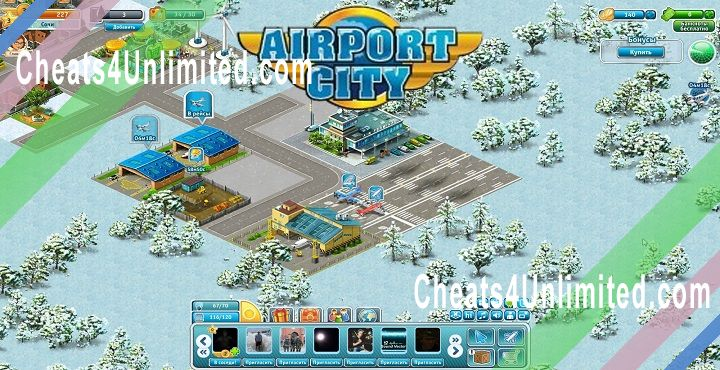 Airport City Hack Cash, Fuel, Coins