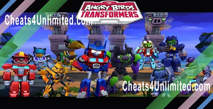 Angry Birds Transformers Hack Gems, Coins