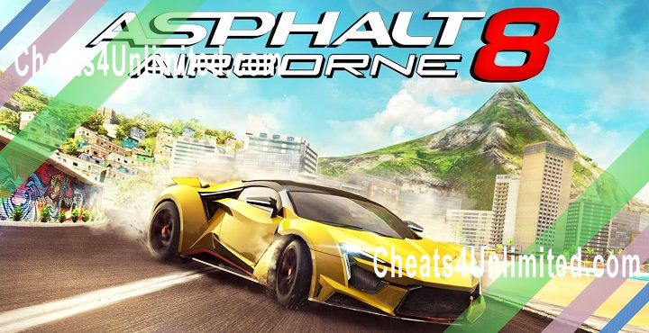 Asphalt 8: Airborne Hack Money/Credits, Stars, Unlock All Cars