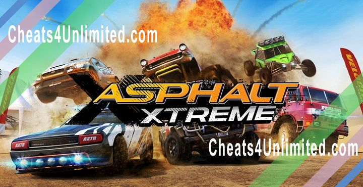Asphalt Xtreme Hack Money/Credits, Tokens