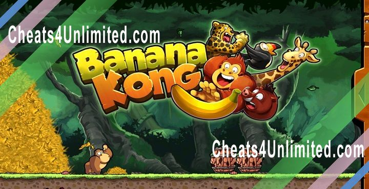 Banana Kong Hack Money/Coins, Bananas, Lives