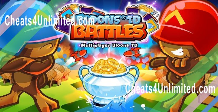 Bloons TD Battles Hack Medallions, Money, Health