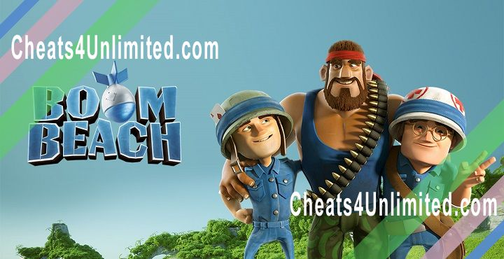 Boom Beach Hack Diamonds/Gems, Money