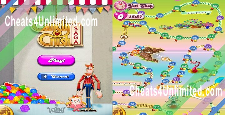 Candy Crush Saga Hack Gold, Moves, Lives, Boosters