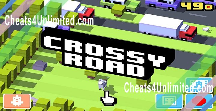 Crossy Road Hack Money/Coins, Unlock All Characters