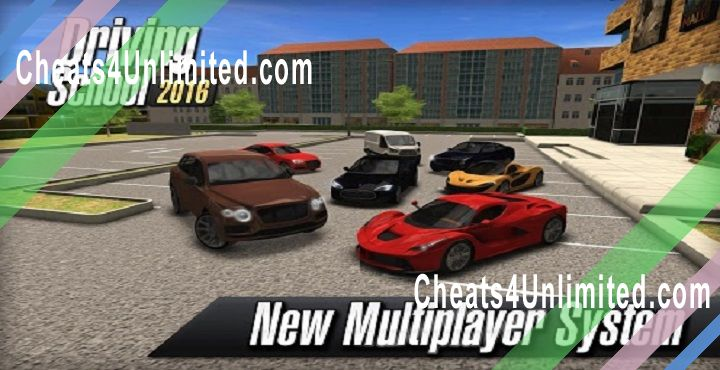 Driving School 2016 Hack Money, XP, Unlock All Cars