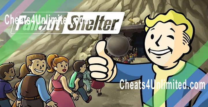 Fallout Shelter Hack Lanchboxes, Caps