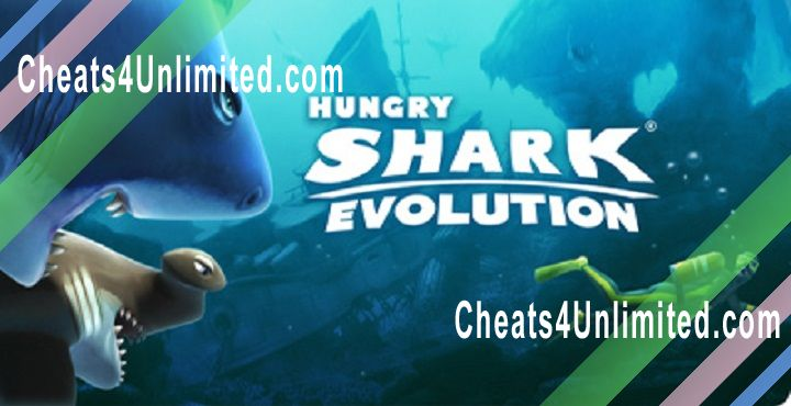 Hungry Shark Evolution Hack Gems, Coins