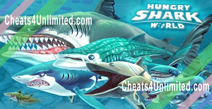 Hungry Shark World Hack Gems, Coins