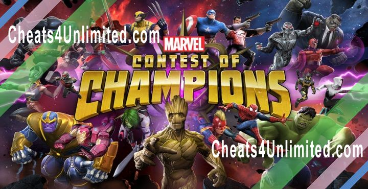 MARVEL Contest of Champions Hack Units, Money, ISO-8