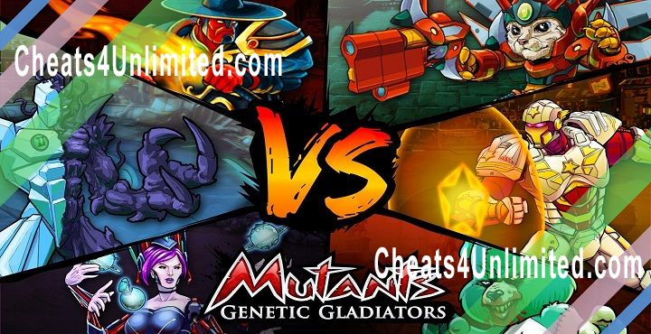Mutants: Genetic Gladiators Hack Gold, Credits/Money