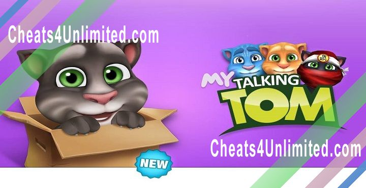 My Talking Tom Hack Diamonds, Coins
