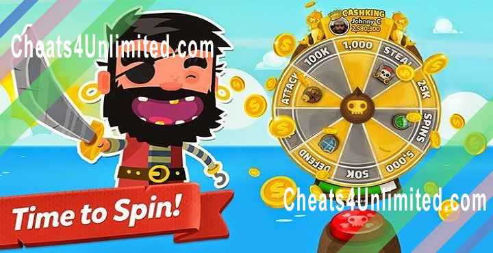 Pirate Kings Hack Spins, Coins