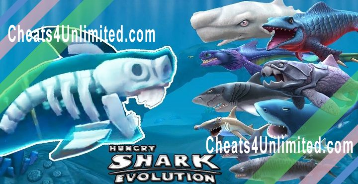 Shark Evolution Hack Money, Gems