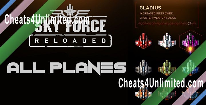 Sky Force Reloaded Hack Stars, Health