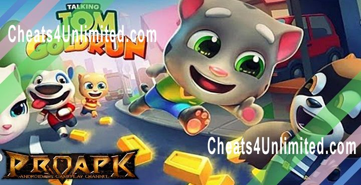 Talking Tom Gold Run Hack Money, Diamond