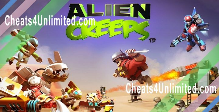 Alien Creeps TD Hack Gems, Coins