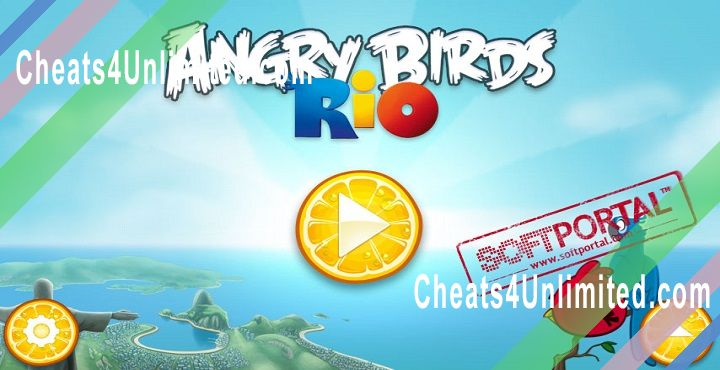 Angry Birds Rio Hack Money/Coins, Power Ups, All Golden Fruits