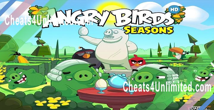 Angry Birds Seasons Hack Coins, Golden Eggs