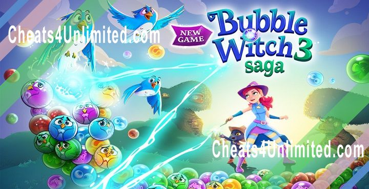 Bubble Witch 3 Saga Hack Gold, Lives, Boosters