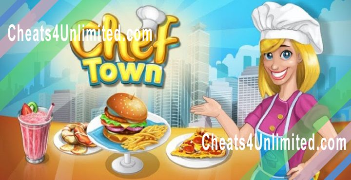 Chef Town Hack Gems, Coins