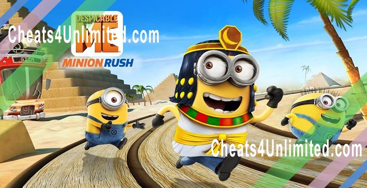 Despicable Me: Minion Rush Hack Tokens, Bananas