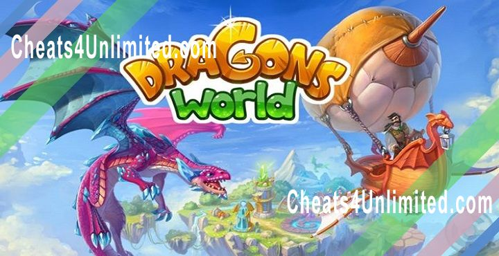 Dragons World Hack Crystals, Gold/Money