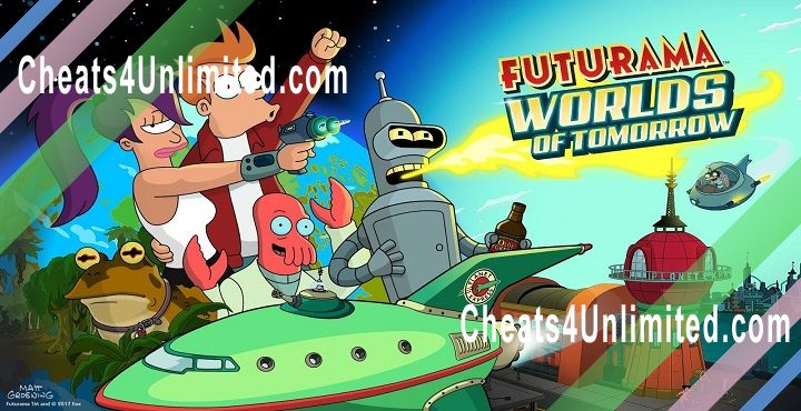 Futurama: Worlds of Tomorrow Hack Money/Nixonbucks, Pizza