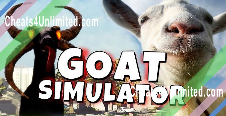 Goat Simulator Hack Score, Unlock All