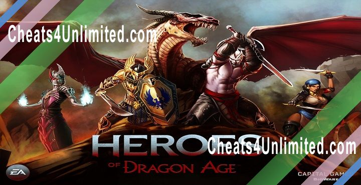 Heroes of Dragon Age Hack Gems, Coins
