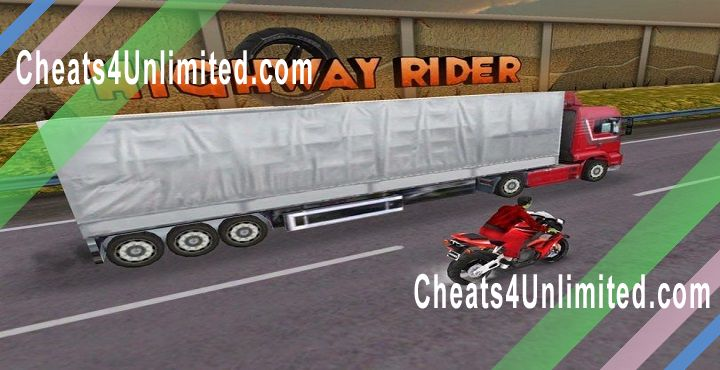Highway Rider Hack Gas Caps, Boosts