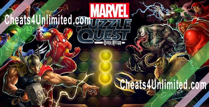 Marvel Puzzle Quest Hack Crystals, Gold, Unlock All Heroes