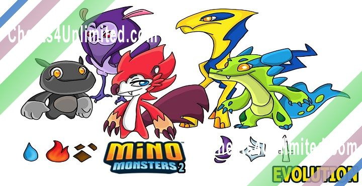 Mino Monsters 2: Evolution Hack Gems