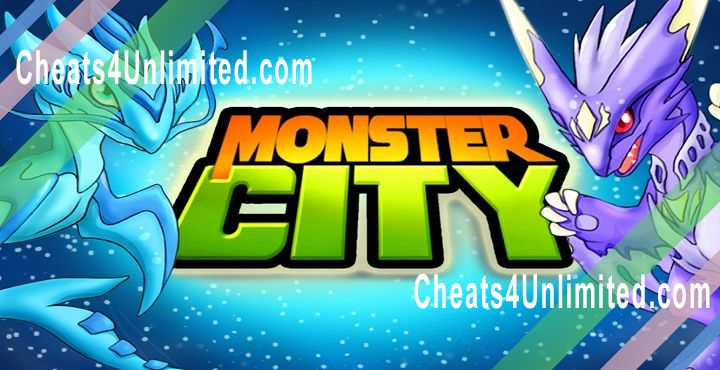 Monster City Hack Gems, Coins