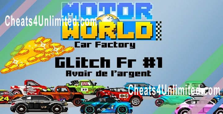 Motor World: Car Factory Hack Cash