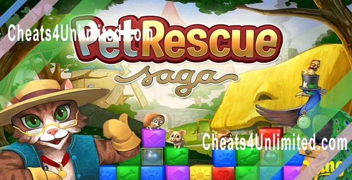 Pet Rescue Saga Hack Gold, Lives, Boosters