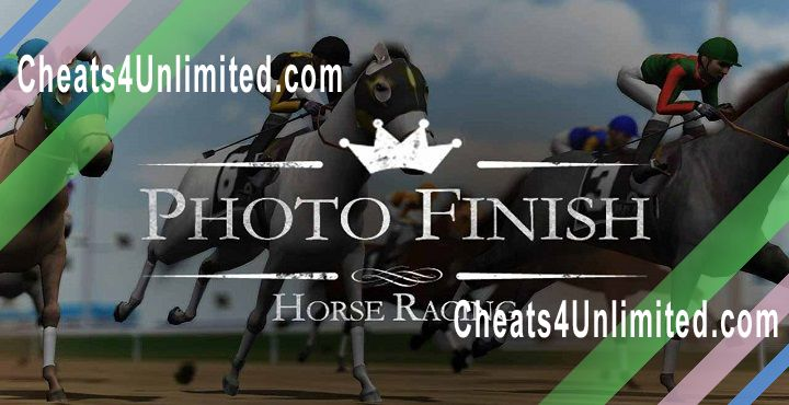 Photo Finish Horse Racing Hack Bucks, Horseshoes