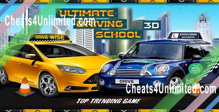 School Driving 3D Hack Money, XP, All Cars