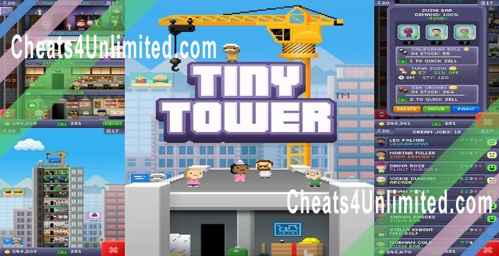Tiny Tower Hack Bux
