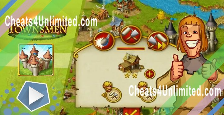 Townsmen Hack Fast Forward, Prestige, Money