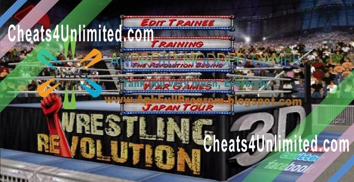 Wrestling Revolution 3D Hack Money, Unlock Everything