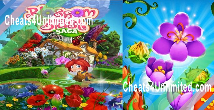 Blossom Blast Saga Hack Gold, Lives