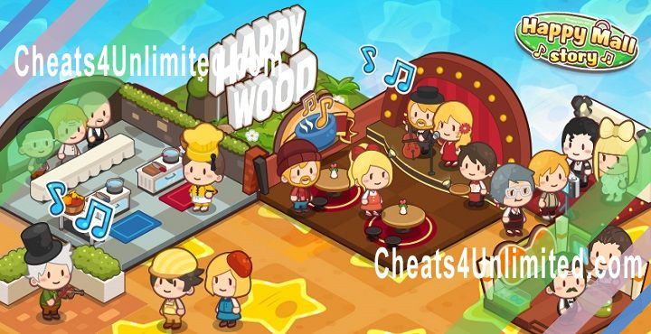 Happy Mall Story Hack Diamonds, Coins