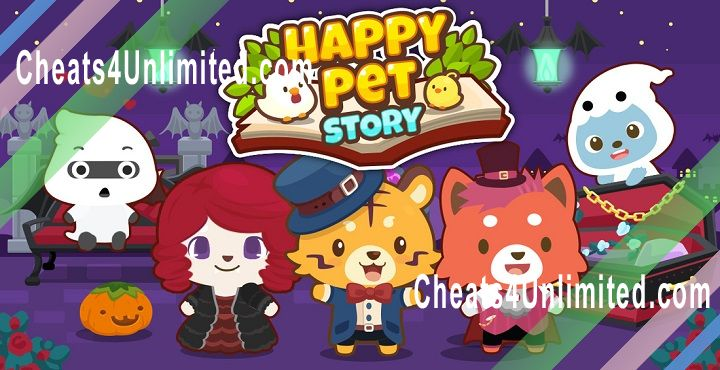 Happy Pet Story Hack Gems, Coins