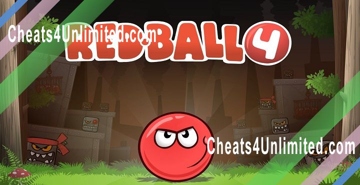 Red Ball 4 Hack Lives, Unlock All Levels