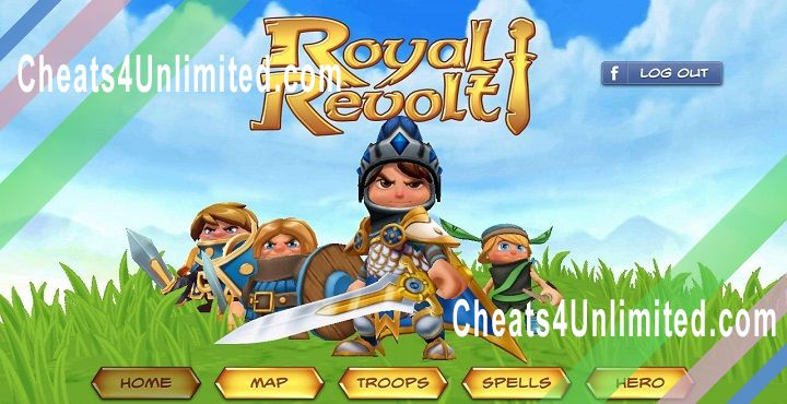 Royal Revolt Hack Gems, Coins
