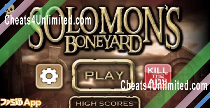 Solomon's Boneyard Hack Gold