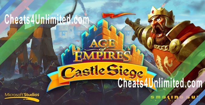 Age of Empires: Castle Siege Hack Gold, Food, Stones, Wood