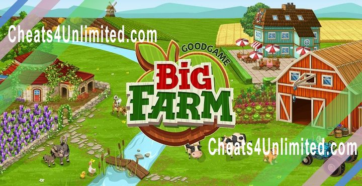 Big Farm Hack Money/Dollars, Gold