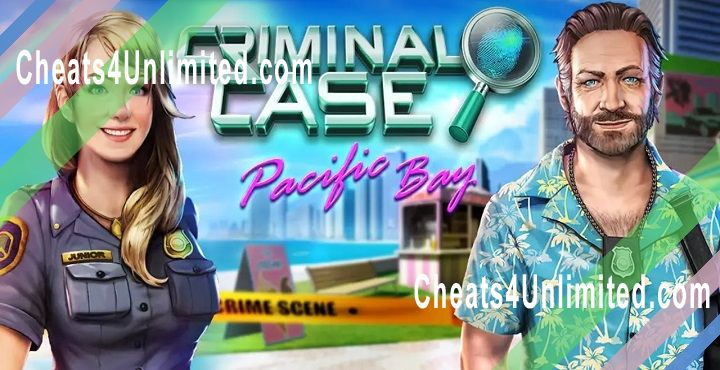 Criminal Case: Pacific Bay Hack Coins, Energy